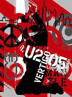 """U2: """"Vertigo//2005, U2 Live From Chicago""""."""