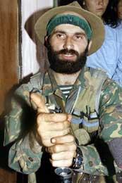 Sjamil Basajev sto bak angrepet i Naltsjik da over 100 mistet livet (Scanpix/AFP)
