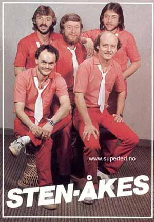 Sten-Åke ba ofte de andre i bandet sette seg på fanget hans.