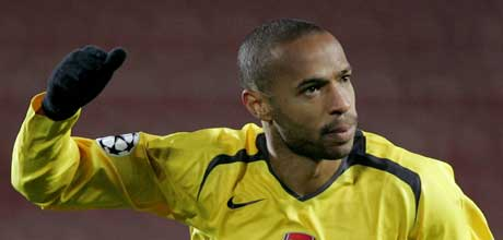 Thierry Henry Arsenal (Foto: REUTERS/Toby Melville)