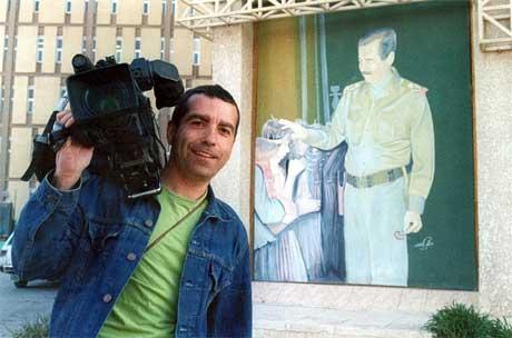 Den spanske fotografen José Couso var blant de drepte. (Foto: Scanpix / AFP)