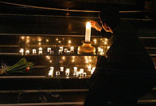 I kveld er det lystenning for narkotikaofre over hele Norge. Illustrasjonsfoto: Gorm Kallestad / SCANPIX