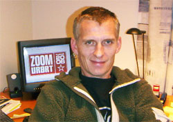En fornøyd Persi Iveland, prosjektleder for ZoomUrørt. (Foto: Jan Børre Andersen)