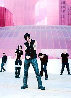 Tre av medlemmene i Seigmen dannet Zeromancer. Foto: Bjørn Opsahl, Sony Music / Scanpix.