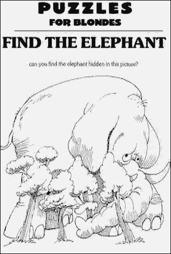Kan du finne elefanten?