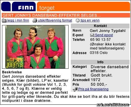 Mer om Gert Jonnys: Svenske band rocker fortsatt (Innsendt av Ivar Stange)
