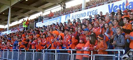 Color Line Stadion har hatt fullt hus på samtlige hjemmekamper. (Foto: Øyvind Johan Heggstad)