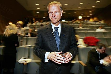 FORNØYD: Konserndirektør John Ottestad la i dag frem det beste kvartalresultatet i Norsk Hydros historie.