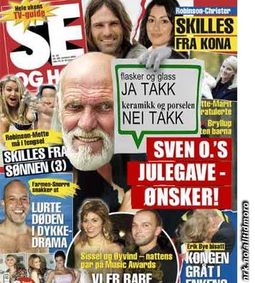 Se og Hør er slemme mot Svenno igjen... (Oddbjørn Wendelbo)