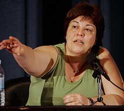 FNs Carina Perelli. (Foto: Reuters/Scanpix)