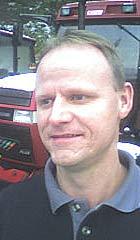Tom Salte vart lurt av svindlaren. Foto: Arne Eithun