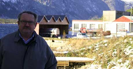 Asbjørn Tveit er deleier i fôrkjøkkenet. (Foto: Frank E. Lien)