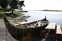 Båtane var viktige for vikingane. Foto:NRK