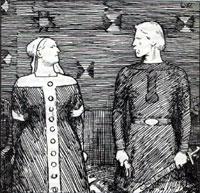 Sigrid og Olav. Ill.: Frå Snorre