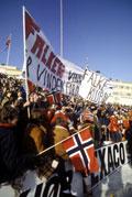 Kanskje blir det Bislett-stemning på utekaféene i vinter? Foto: Inge Gjellesvik, Scanpix