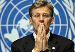 ADVARSEL: Også FNs nødhjelpskoordinator Jan Egeland kommer med en klar advarsel.