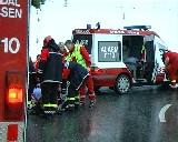Uklar skadesituasjon. Foto: Jan Erik Helleren, NRK