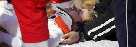 Dagfinn Enerly skadet seg alvorlig i siste serierunde i fjor. (Foto: Håkon Mosvold Larsen / SCANPIX)