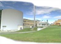 Den norske atomreaktoren på Kjeller.