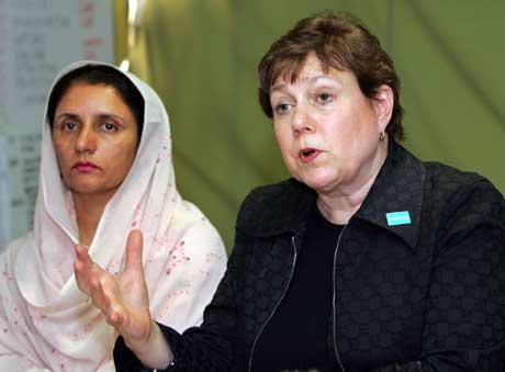 UNICEF-sjefen ber om mer penger. Foto: Scanpix/Reuters.