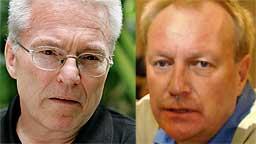 ETTERFORSKES: Psykiater Pål Herlovsen og psykolog John Sandstrøm er for tiden under etterforskning for å ha utstedt og solgt falske legeerklæringer. (Foto: Scanpix)