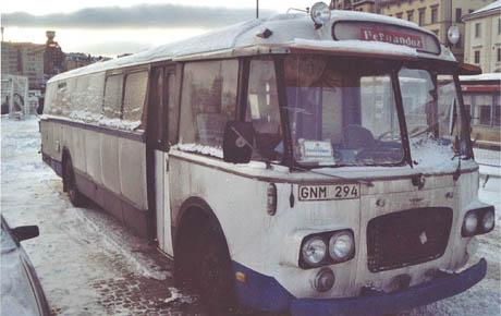 Den første bussen til Fernandoz!
