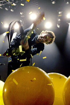 Coldplay er nå oppe i øverste divisjon som konsertband. Foto: Sara Johannessen, Scanpix.