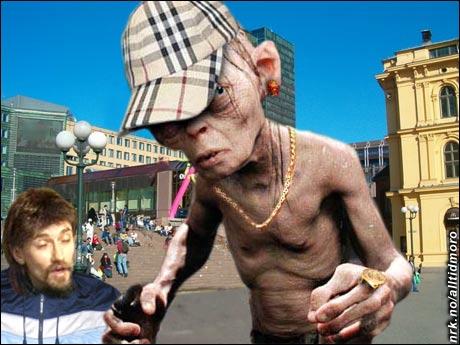 I det virkelige liv henger Gollum rundt nede på Oslo S. (Alltid Moro)