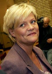 FLYTTAR PÅ MILLIARDAR: Finansfraksjonen i stortingsgruppa til finansminister Kristin Halvorsen vil flytte på dryge 9 milliardar kroner. (Foto: Jarl Fr. Erichsen / Scanpix)