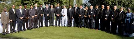 Ministrer fra G20-landene samrådde seg i Pakistan i september. (Foto: AFP/ Scanpix)