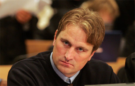 Kjell Alrich Schumann er tiltalt for å ha deltatt i NOKAS-ranet i Stavanger 5. april i fjor. Foto: Scanpix