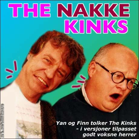 Kink i nakken: Herreavdelingen er glad i låter av The Kinks. (Alltid Moro)