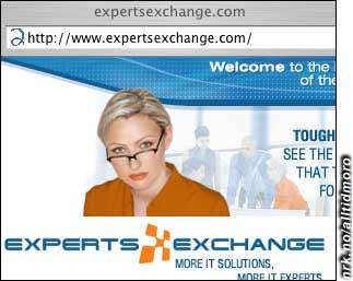 ExpertsExchange (utveksling av eksperter) eller Expert Sex Change (Kjønnsskifte-eksperten)? Dette firmaet oppdaget etterhvert tvetydigheten, og måtte legge inn en bindestrek. De er nå å finne på experts-exchange.com.