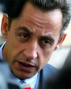 Innenriksminister Nicolas Sarkozy kritiseres for sin harde ordbruk. (Foto: Scanpix / Reuters)