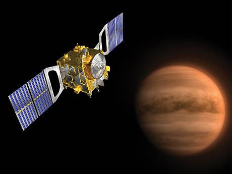 "9. november sendes ""Venus Express"" til planeten Venus for å undersøke overflaten og værsystemet. Foto: AFP / SCANPIX"