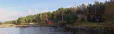 Eiendommen på Flekkerøy hvor kronprinsparet vil ha landsted (foto: Geir Ingar Egeland)