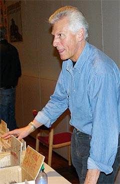 Roy Rydland er en av initiativtakerne bak Oslo Platemesse. Foto: Jon Sandem.