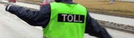 Tollkontrollen på Idd i Halden ga stort hos Vestfold-par. Foto: Scanpix