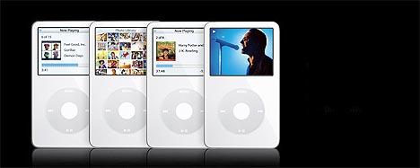 Apples iPod med video mangler videoinnhold for norske brukere. Foto: Apple.