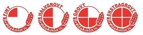 Slik ser den nye merkingen for grovbrød ut. Logo: NBL