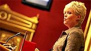 Finansminister Kristin Halvorsen. (Foto: Scanpix)