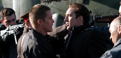 Nocolas Cage er mye bekymret i denne filmen. Foto: Filmweb