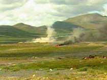 Det er brukt mye hvitt fosfor på skytefeltet på Hjerkinn.
