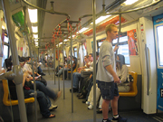Skytrain - effektivt og rimelig. Foto Andreas Toft.