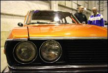 Jan Erik tar Mazdaen i nærmere øyesyn. Og han er fornøyd med det han ser.