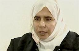 Sajida al-Rishawi klarte ikke å utløse tennmekanismen til sprengstoffet som hun hadde festet til kroppen.