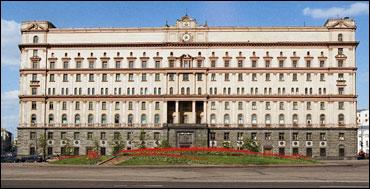 FSB-bygningen i Moskva. (Scanpix-foto)