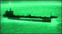 Det er rundt 677 tonn olje og diesel om bord, opplyser SFT. (Foto: 330-skvadronen)