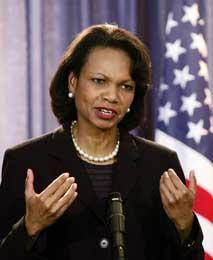 Rice lyktes med Gaza-avtale (Scanpix/AP)