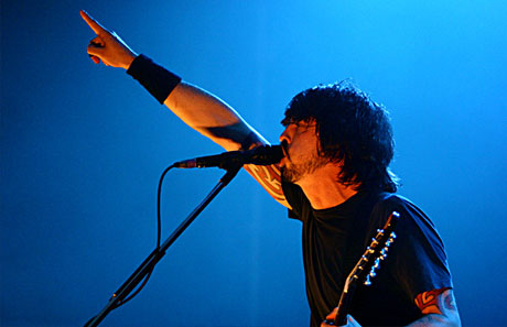 Foo Fighters er blant de du hører i NRKs eksklusive konsertpakke på DAB siste helga i november. ( Foto: Kim Erlandsen)